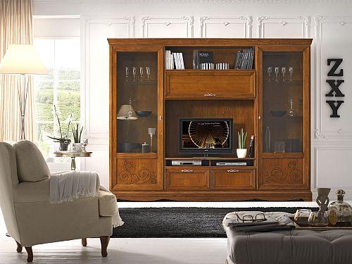 Parete attrezzata ok come vetrina libreria e porta tv for Arredamento centro estetico prezzi