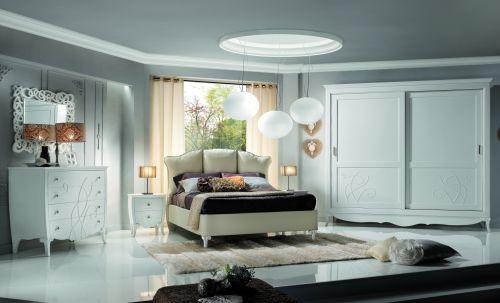 Camere da letto in stile italian style casale di scodosia padova - Passione italiana camera da letto ...