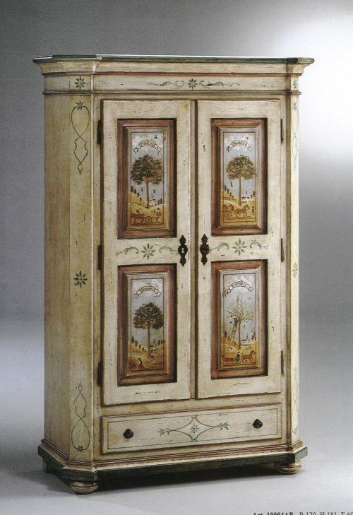 Camere da letto in stile italian style casale di scodosia padova - Mobili grezzi da dipingere ...