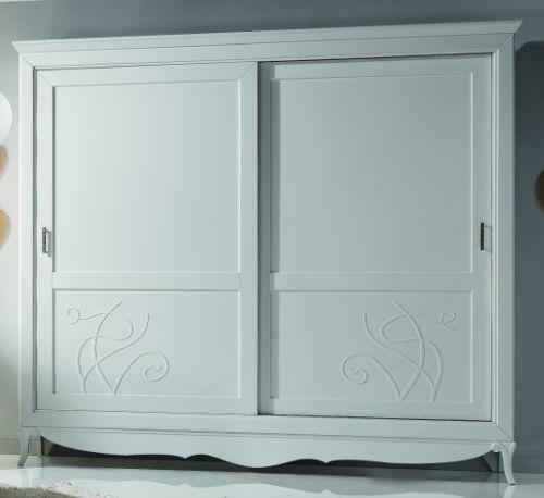Camera letto di design laccata bianca como 39 comodini letto armadio specchiera ebay - Camera da letto bianca laccata ...