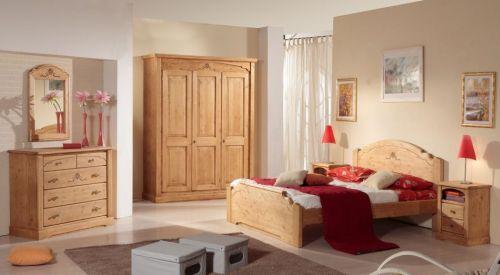 Camere da letto in stile italian style casale di - Camera da letto rovere ...