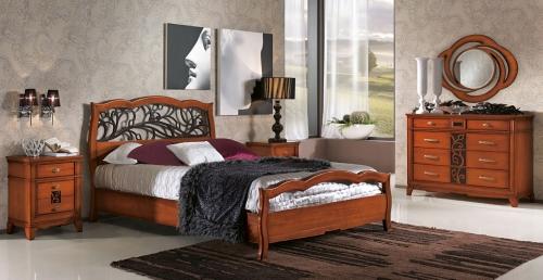 Camere da letto in stile italian style casale di for Zona notte arredamento